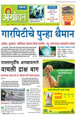 Agrowon Newspaper Advertising