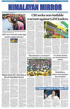Himalayan Mirror Newspaper Advertising