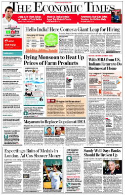 The Economic Times Newspaper Advertising