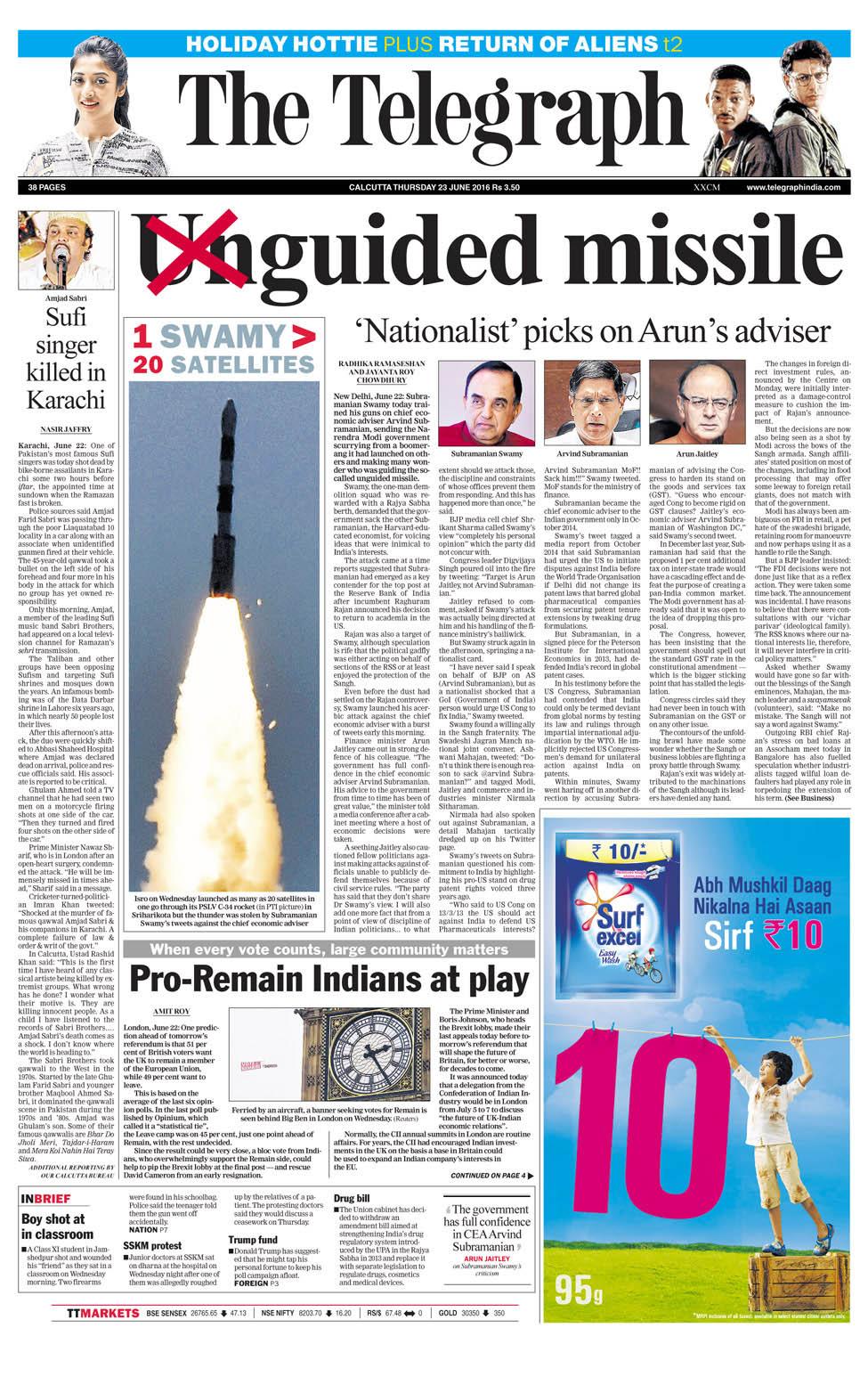 The Telegraph Newspaper Advertising